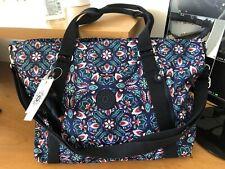 Kipling Tote Travel Bag Skyler Large Excellent Used Condition