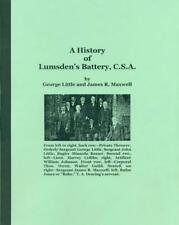 A History of Lumsden's Battery, C.S.A. Tuscaloosa, Alabama