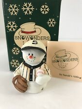 "Limited Edition ""Homer� Snowonders By Sarah's Attic #47/1525 Coa Original Box"