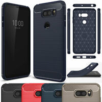 For LG V30 G6 Q6 Ultra Slim Soft Case Durable Rubber Bumper Protective Cover