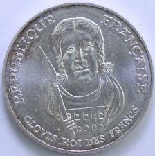 FRANCE 100 FRANCS CLOVIS 1996 ARGENT °