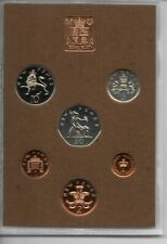 More details for 1974 royal mint proof set with no heavy toning