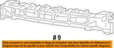 Jeep CHRYSLER OEM 14-16 Cherokee Bumper Face-Foam Impact Absorber Bar 68200495AB