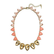 Chloe and Isabel Color Code Coral Teardrop Necklace - N274C - New