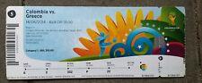 Eintrittskarte/Ticket #5 Kolumbien -  Griechenland, WM2014