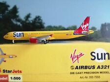StarJets Flugzeug 1:500 Virgin Sun A321 G-VKIS plus herpa wings katalog