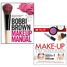 Bobbi Brown Makeup Manual, Make-Up Techniques (Try It!) 2 Books Collection Set