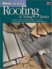 Ortho's All About Roofing & Siding Basics (Ortho's All about)-ExLibrary