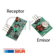 Modulo Emisor y Receptor FS1000A RF 433MHz. Inalambrico Control Remoto Receiver