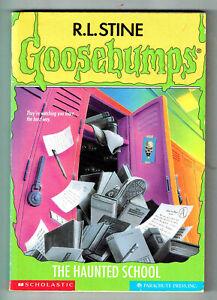 GOOSEBUMPS, THE HAUNTED SCHOOL #59, 1st edition USA, VGC, LOOKS UNREAD.