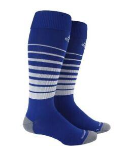 ADIDAS Team Speed OTC Soccer Socks Royal Blue White Youth S 13c-4y Mens L 9-13