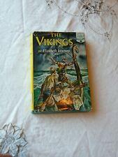 Elizabeth Janeway The Vikings Landmark Books 12 1951 Random House Early Printing