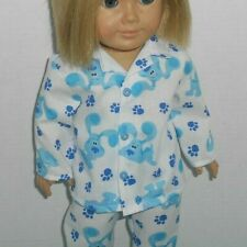 """18""""  doll Blues Clues doll pajamas fits American Girl doll"""