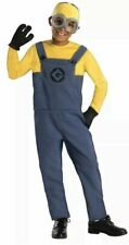 Boys Despicable Me Minion Dave Fancy Dress Costume Childs Kids small