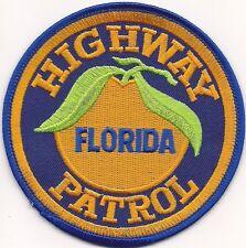 HIGHWAY PATROL * FLORIDA ** Staats-Polizei Abzeichen Patch Aufnäher FL Insignia