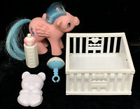 Vintage G1 My Little Pony Baby Firefly Near Complete With Accessories MLP