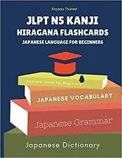 JLPT N5 Kanji Hiragana Flashcards Japanese Language for Beginn... Paperback Book