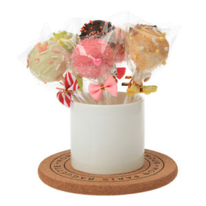 Hot 100pc Display Sweet Lollipop Cake Pop Favor Party Wedding Treat Clear Bags