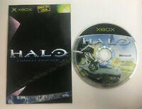 * Original Xbox Game * HALO - COMBAT EVOLVED * X Box
