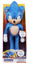 Sonic The Hedgehog Movie 13 Inch Talking Sonic Plush New Great Gift! Fast Ship!
