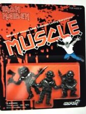 SUPER7 x Iron Maiden Eddie MUSCLE Toys  Soundhouse Tape Event Figure Uncut Black