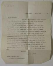 1898 Paul Leicester Ford Typed Letter Ink Signed to Charles Hildeburn re Books
