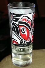 Victoria Canada British Columbia  Tall  Shot Glass Shooter  2 oz.