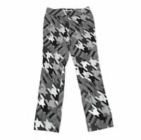 ISSEY MIYAKE Houndstooth Stretched Pants Size 1(K-77553)