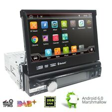 "HOT SALE 7"" Single Din Android 6.0 Car DVD Player Radio GPS OBD Mirror Link"