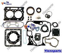 V3600-T V3600-E3B V3600 overhaul gasket kit upper lower set for Kubota engine
