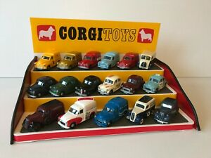Corgi Toys Red/Yellow  3 Step Display Unit