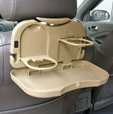 Quality Folding Auto Car Back Seat Table Drink Food Cup Tray Holder Stand Desk