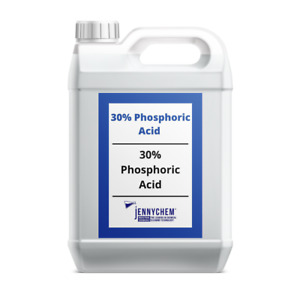 30% Phosphoric Acid Descaler Rust Remover Safe On Metal Surfaces - 5L