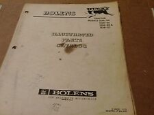 bolens HUSKY models 1256-04 1256-05 1256-06 & 1256-07  ILLUSTRATED PARTS CATALOG