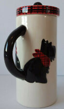 Scottie Dog Tea Coffee Mug With Cover Lid Gift For Dog Lover