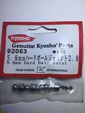 KYOSHO 5.8MM HARD BALL JOINT (W/2.8MM HOLE / 4pcs) / # 92053