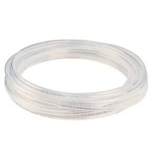 """Clear Nylon Plastic Tubing Fuel/Lubricant - Inner Dia .096"""" Outer Dia 1/8"""" 100ft"""