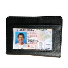 ONE LOCK WALLET Slim RFID Black Fraud Blocking Protect RFID Wallets Card Holder
