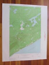 Lutsen Minnesota 1962 Original Vintage USGS Topo Map