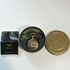 Box w/ Paperwork Modern Uses Battery Waltham Pocket Watch Ducks Duck Hunting in