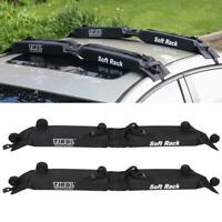 Universal Soft Auto Car Roof Rack Outdoor Rooftop Luggage Carrier Load 60kg