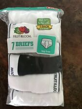 Nip! Fruit Of The Loom Boys Briefs Sz. Medium 10-12 7 Pair