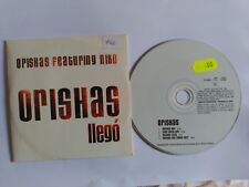 RARE PROMO CD SINGLE ORISHAS FEATURING NIKO - ORISHAS LLEGO - SPAIN 1998 VG+