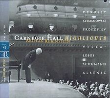 Rubinstein Collection, Vol. 42: Live at Carnegie Hall (Highlights)