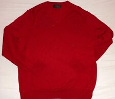 NUOVO EXPRESS x-Large XL Rosso Maglione Pullover Giacca Blu Navy Da Uomo