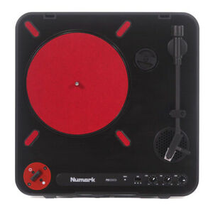 Numark PT01 Scratch Compact Portable Turntable with USB