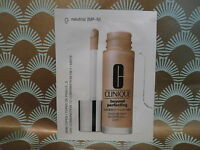 Clinique Beyond Perfecting Foundation & Concealer 20 x 1.5ml sachets, 9 neutral