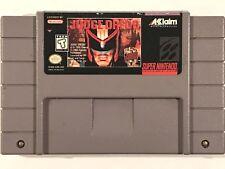 Judge Dredd (Super Nintendo Entertainment System, 1995) SNES - TESTED WORKS!!!