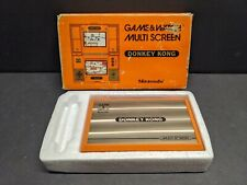 NINTENDO GAME AND WATCH DONKEY KONG HANDHELD GAME COMPLETE TESTED WORKING