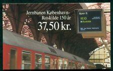 DENMARK HS90 (1075) Copenhagen-Roskilde Railway booklet, VF
